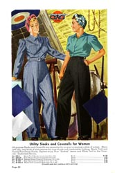 GWG advertisement for women's work clothes